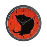 Chat Noir Wall Clock