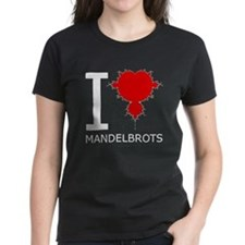 I Heart Mandelbrots Tee