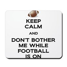 Keep Calm Football Mousepad