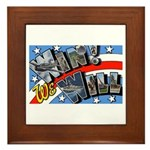 We Will Win Victory Framed Tile