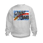 We Will Win Victory (Front) Kids Sweatshirt