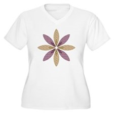 Sparkle Effect Fl T-Shirt