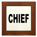 Chief Framed Tile