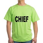 Chief (Front) Green T-Shirt