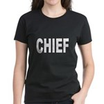 Chief (Front) Women's Dark T-Shirt