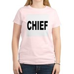 Chief Women's Pink T-Shirt