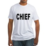 Chief (Front) Fitted T-Shirt