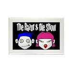 Razor & Die Rectangle Magnet (100 pack)
