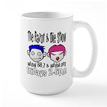 Razor & Die Large Mug