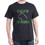 Cane Corso Logo Green T-Shirt