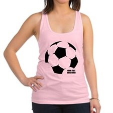 Personalized Soccer Racerback Tank Top