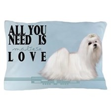 Maltese Pillow Case