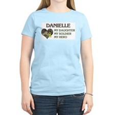 Danielle: My Hero Women's Pink T-Shirt