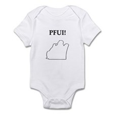 pfui gifts and t-shirts Infant Bodysuit