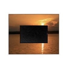 Mid Summer's Night Sunset Picture Frame