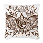 StancedDesign2.png Woven Throw Pillow