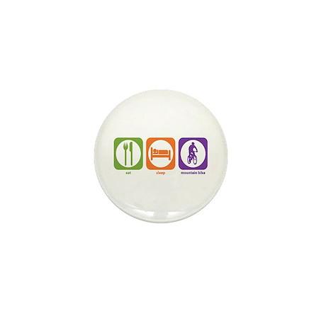 Eat Sleep Bike Mini Button (100 pack)