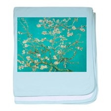 Almond Blossoms baby blanket
