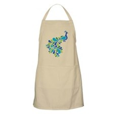 Retro Peacock Apron