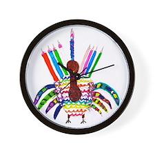 Thankukkah 2013 Wall Clock