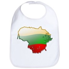"""Lithuania Bubble Map"" Bib"