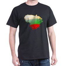 """Lithuania Bubble Map"" T-Shirt"