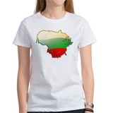 """Lithuania Bubble Map"" Tee"