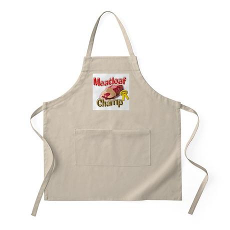 Meatloaf Champ BBQ Apron