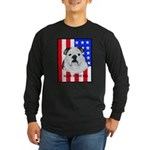 English Bulldog Made in the U Long Sleeve Dark T-S