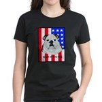 English Bulldog Made in the U Women's Dark T-Shirt