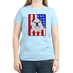 English Bulldog Made in the U Women's Pink T-Shirt