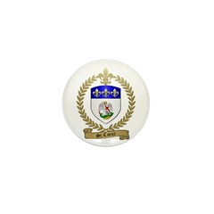 ST. COEUR Family Crest Mini Button (10 pack)