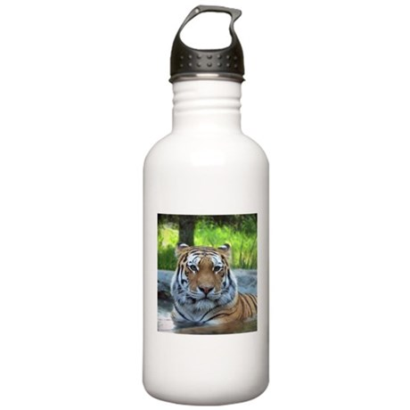 Siberian tiger King Confidence and Calm Water Bott