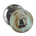 Chinese Chow Chow Button