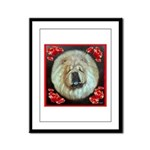 Chinese Chow Chow Framed Panel Print