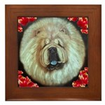 Chinese Chow Chow Framed Tile