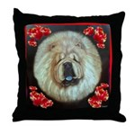 Chinese Chow Chow Throw Pillow