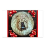 Chinese Chow Chow Postcards (Package of 8)
