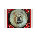 Chinese Chow Chow Rectangle Magnet