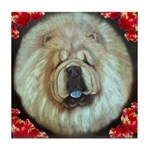 Chinese Chow Chow Tile Coaster