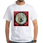 Chinese Chow Chow White T-Shirt