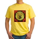 Chinese Chow Chow Yellow T-Shirt