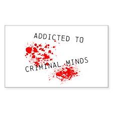 Addicted to Criminal Minds Decal