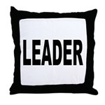 Leader Throw Pillow