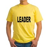 Leader (Front) Yellow T-Shirt