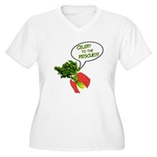 Celery to the Rescue! Plus Size T-Shirt
