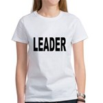Leader (Front) Women's T-Shirt
