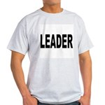 Leader (Front) Ash Grey T-Shirt