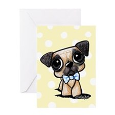 Little Darlin Pug Greeting Card