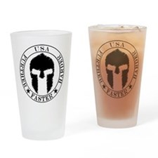 Spartan Fitness Drinking Glass